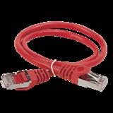 ITK Коммутационный шнур (патч-корд), кат.5Е FTP, 2м, красный
