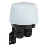 Фотореле ФР 603 макс. нагрузка 2200ВА IP66 белый IEK
