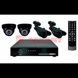 Комплект видеонаблюдения   2 внутренние камеры 2 наружные камеры (без жесткого диска)  REXANT