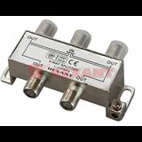 Сплиттер (разветвитель-сумматор) 1х4  5-1000MHz 8dB Rexant