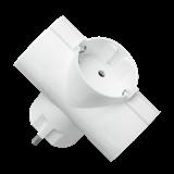Адаптер / Разветвитель ФАZА АП-3-ТЗ тройник, Т-образный, земл. .4690601043184 JAZZWAY