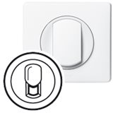 Лицевая панель для розетки телефонной белый Celiane 068237. 80px x 80px