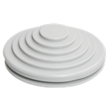 Сальник d=20мм (Dотв.бокса 22мм) серый ИЭК YSA40-20-22-68-K41