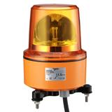 Лампа-маячок вращ. оранж. 230В АС 130 мм