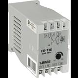 Реле контроля 3-фазного напряжения ЕЛ-11Е 5А 380В 0,1-10с 1з+1р A8222-77135136 Реле и Автоматика