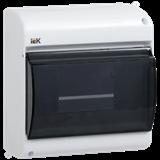 Корпус навес КМПн 2/6 6мод с прозр.крышкой IP30 ИЭК MKP42-N-06-30-09