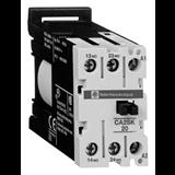 SE Auxiliary contactors Промежуточное реле 2НО, цепь управления 24В DC, винтовой зажим