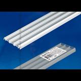 Профиль для светодиодной (LED) ленты накладной UFE-A08 SILVER 200 POLYBAG 2м