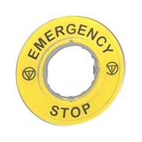 Маркировка 3D 'Emergency Stop' ZBY9320 Schneider Electric