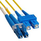 Патч-корд оптический переходной SM , 9/125 OS2 , LC/UPC-SC/UPC, Duplex , LSZH, 2м 50-2410 REXANT