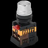 Кнопка ABLF-22 прозрач. d22мм неон/240В 1з+1р BBT10-ABLF-K08 IEK