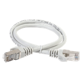 ITK Коммутационный шнур (патч-корд), кат.5Е FTP, LSZH, 10м, серый