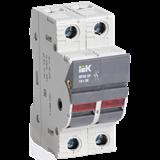Предохранитель-разъединитель с индикацией ПР32 2P 10х38 32А CFH02-32S IEK