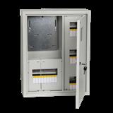 Корпус навес метал учет ЩУРН-3/18зо-1 36 18мод (560x440x165) IP31 ИЭК MKM32-N-18-31-ZO