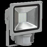 IEK Прожектор СДО 05-20Д(детектор)светодиодный серый SMD IP44
