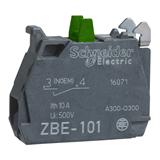 Блок-контакт для винтового крепления 1НО  ZBE101