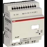 Контроллер программируемый модульный, =24В, 8I/4O-Реле, CL-LSR.CX12DC2