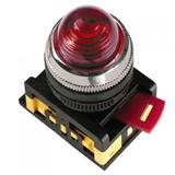 Лампа AL-22 сигн.d22мм красн неон/240В цилиндр