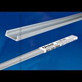 Профиль для светодиодной (LED) ленты накладной UFE-A02 SILVER 200 POLYBAG  2м