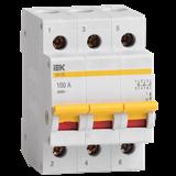 Выключатель нагрузки ВН-32 3Р 100А MNV10-3-100 IEK