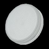 Лампа светодиодная LED GX53 6Вт 850/5000K 460Lm 220В таблетка мат. ЭКО JAZZWAY