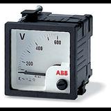 Вольтметр перем.тока трансф. вкл. VLM1-TV-110-100/200/72 16088699 ABB