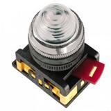 Лампа AL-22 сигн.d22мм прозр неон/240В цилиндр