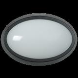 Светильник LED ДПО 5041 12Вт 4000K IP65 овал черный