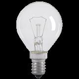Лампа G45 шар прозр. 60Вт E14 LN-G45-60-E14-CL IEK
