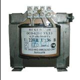 Трансформатор обмоточный 400Вт 220/36В ОСО-0,4 220/36 ЭЛТИ (Кострома)