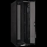 ITK Шкаф серв. 19' 42U, 800х1000 мм пер. двухстворчатая перф. дверь, задн. перф. черный ч. 3 из LS05-42U81-2PP-3 IEK