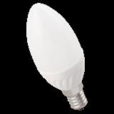 Лампа LED E14 5Вт 740/4000K 450Lm 220В C35 мат. ЭКО LLE-C35-5-230-40-E14 IEK