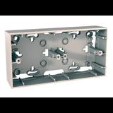 Коробка для наружной проводки 36 мм, 2 п бежевый MGU8.004.25