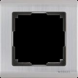 Рамка на 1 пост (глянцевый никель) / WL02-Frame-01_Metallic/  a028859