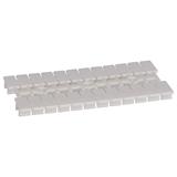 Маркировка для клемм OptiClip UM-TM- 5x10 -белый 249914 КЭАЗ
