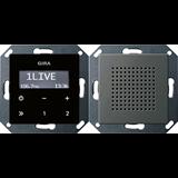 Радиоприемник скрытого монтажа с функцией RDS 2280600 GIRA