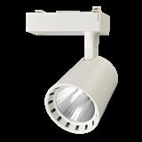 Светильник трековый LED PTR 03 30Вт 4000K 1-фаз. белый .5010598 JAZZWAY
