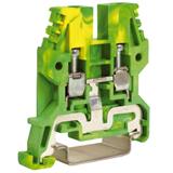 Зажим для заземления желт.зелен 4 кв.мм TEO.4, ДКС ZTO430. 80px x 80px