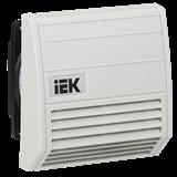 IEK Вентилятор с фильтром 21 куб.м./час IP55