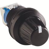 Потенциометр MT-105B в сборе 5 кОм кольцо черный пластик