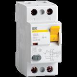 Устройство защитного отключения УЗО ВД1-63 2п 63А 30мА тип А MDV11-2-063-030 IEK