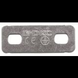 Никелированная пластина для заземления PTCE 37501 ДКС
