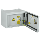 Ящик с трансформатором понижающим ЯТП-0,25 230/36-2 УХЛ2 IP54 IEK