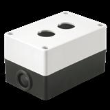 Корпус КП102 для кнопок 2места белый ИЭК