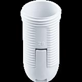 Патрон пластиковый люстровый под кольцо Е14 (без кольца в комплекте) белый