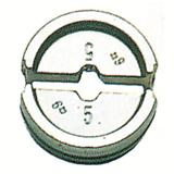 обжимная насадка, шестигранная DIN Медная 35/алюминиевая 25