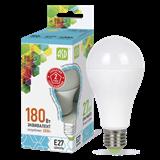 Лампа светодиодная LED E27 20Вт 840/4000K 1800Lm 220В A60 мат. Standard ASD