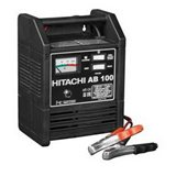 Зарядное устройство Hitachi AB100 для автомобильных аккумуляторов, 12В, 15А, 220В, 4,2кг