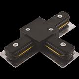 Коннектор PTR CI-BL T-образный черный IP40 однофазный .5010857 JAZZWAY