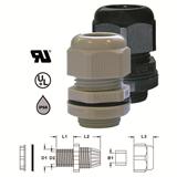 Кабельные вводы IP68, PG16, цвет серый 250068 HAUPA